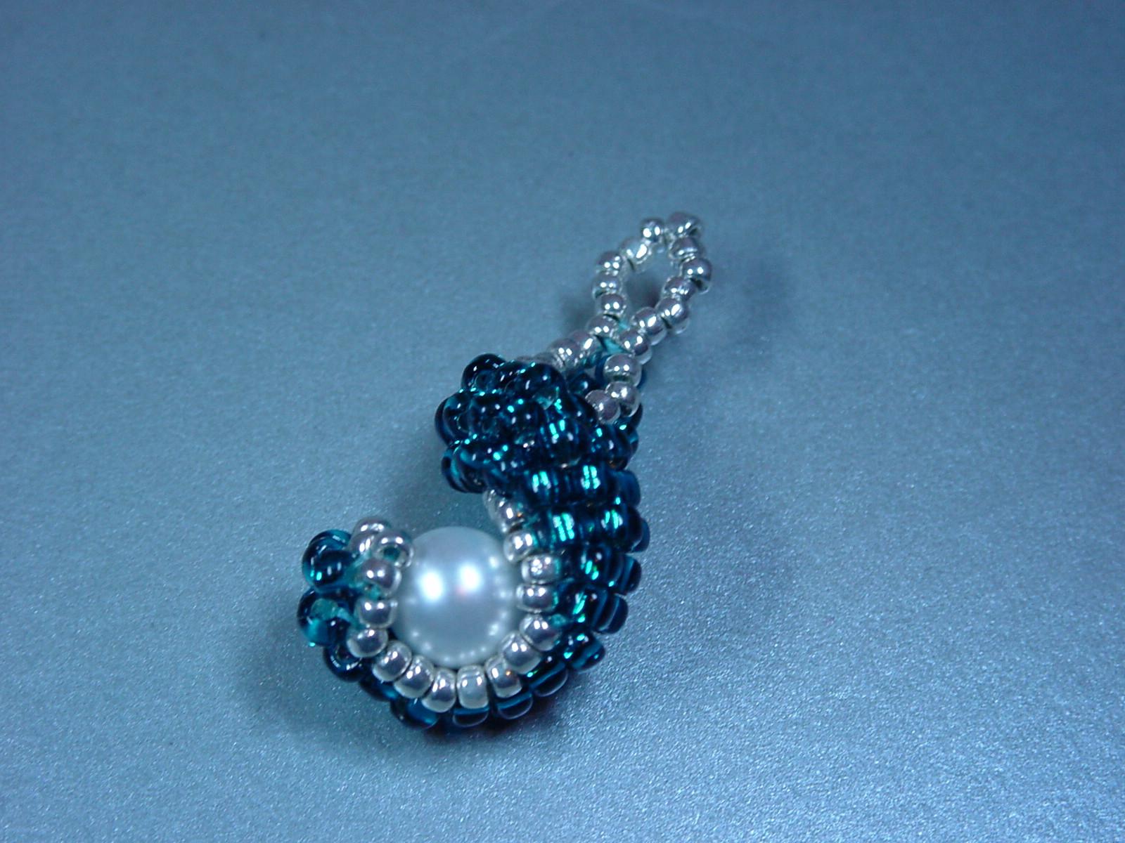 Perlenschmuck anhanger anleitung